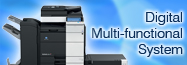 Digital Multi-functional System|Printer|Copier
